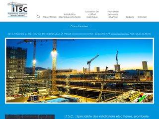 Electricité, plomberie de chantier à Dieppe (76)