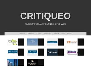 Guide et avis sur Critiqueo