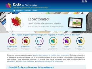 Ecolix, logiciel de gestion pour les magasins de meubles