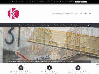 Kodako distribution de prospectus Toulouse