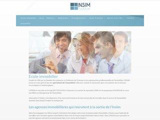 INSIM: école de l'immobilier