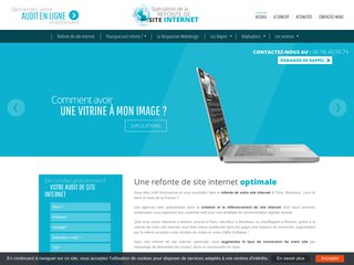 Refonte de site internet Lille