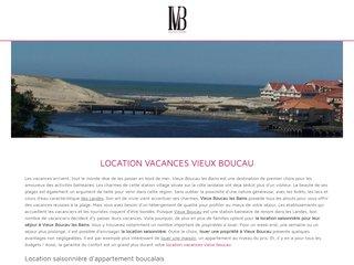 Location saisonnière Vieux Boucau