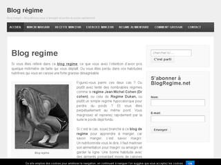 Blog régime: le blog perte de poids