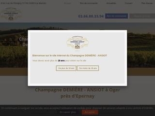 Commander champagne en ligne