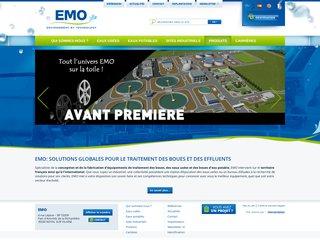 EMO innove pour le traitement de l'eau