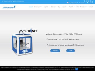 Stratomaker, la première imprimante 3D made in France