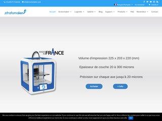 Stratomaker, la première imprimante 3D made in France
