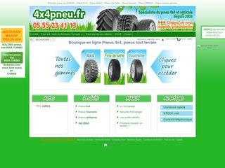 Prix pneu 4x4