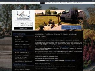 Monuments et articles funéraires à Caen