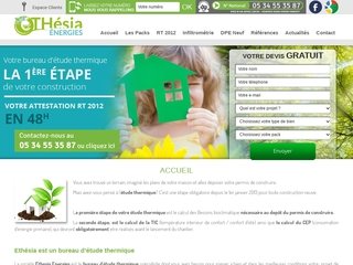 Cabinet d'Etude Thermique RT 2012 - Ethesia Energies