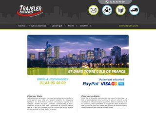 Service de Coursier Rapide à Paris - Traveler Courses