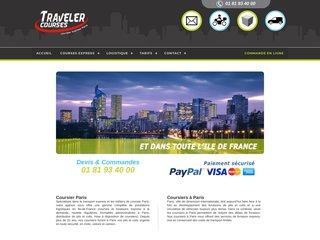 Service de Coursier Rapide à Paris - Traveler Courses