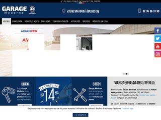 Concessionnaire de voiture sans permis (76) - Garage Moderne