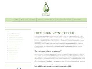 camping écologique