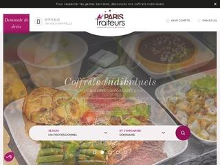 paris-traiteurs - plateau repas