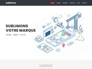 Constructeur de sites internet Sublimeo