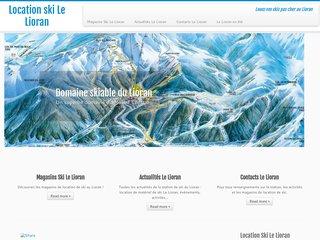 Location de ski le lorian, une autre façon de skier
