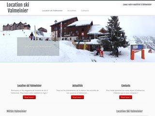 Le site web de la station valmenier bouge aussi l'été !
