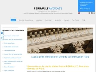 Cabinet d'avocats Pascal PERRAULT à Paris