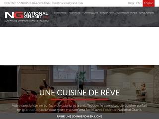 Comptoir de Granite et de Quartz | National Granit