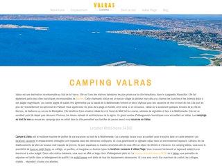 camping valras