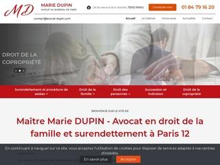Avocat droit de la famille Paris 12