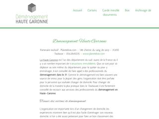 déménagement Haute Garonne
