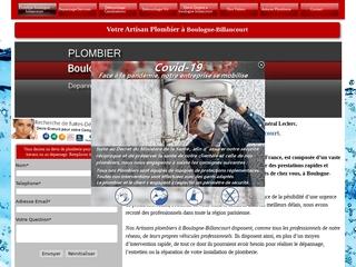 Plombier Boulogne Billancourt
