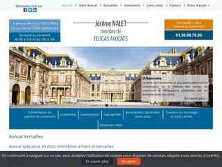 Avocat droit de construction Versailles