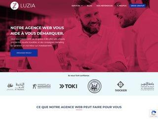 Luzia Agence Web Casablanca