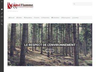 Conviflamme, poêles à bois et à granulés à Rouen