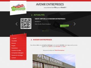 Avenir entreprises - location de buraux et de locaux pour les entreprises à Caen