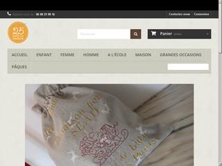 Cadeaux personnalisés faits mains 25 Points de couture