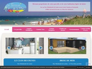 Les Terrasses de la mer - parcelles et habitations de loisirs à Hermaville s/ Mer