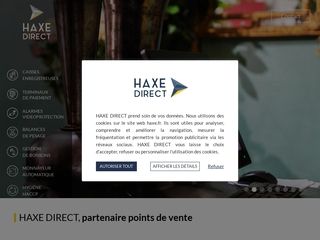 Matériel de point de vente - Haxe Direct