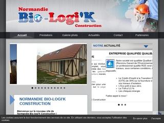 Normandie Bio-Logi'K - construction de maisons, terrassement, charpente, maçonnerie près de Caen
