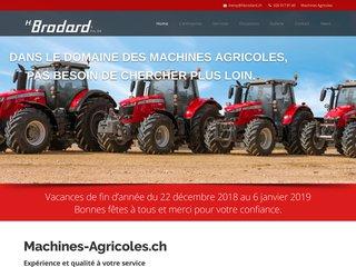 H.Brodard, machines agricoles
