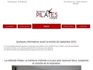 Le Studio Bordeaux Pilates d'origine