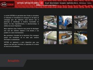 Softekk : Convoyeurs et rouleaux de manutention