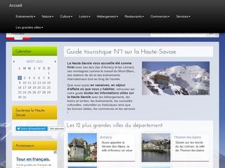 Voyage en Haute-Savoie