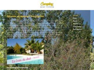 Camping Saint Cyprien