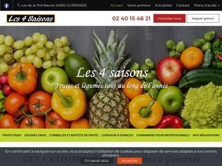 Livraison de fruits et légumes Guérande