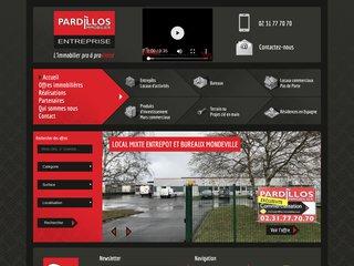PARDILLOS IMMOBILIER -  vente de bureaux et locaux  à l'usage des professionnels - Caen