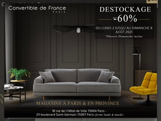 Convertible de France