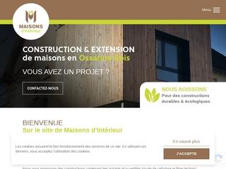 Maisons d'intérieur - construction de maisons en bois près de Caen
