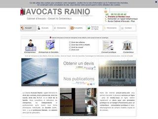 Avocat Lyon Rainio Commercial Contrat Travail