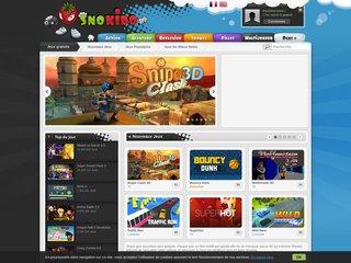 Jeux en ligne sur Snokido