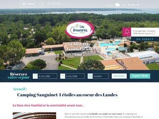 Lou Broustaricq : Camping Landes 4 étoiles