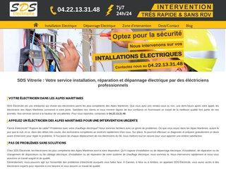 Électricien à Nice et dans les Alpes-Maritimes